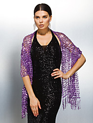Wedding / Party/Evening Sequined Shawls