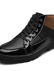 Scarpe da uomo Casual Di pelle Sneakers alla moda Nero