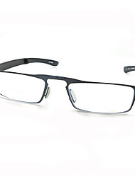 [Free Lenses] TR90 Rectangle Full-Rim Lightweight Reading Eyeglasses