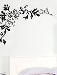 Wall Stickers Wall Decals, Flower Family Home Decor Mural PVC Wall Stickers