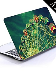 Ferris Wheel Design Full-Body Protective Plastic Case for 11-inch/13-inch New MacBook Air