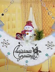 decorazioni natalizie media ornamenti luna (stile casuale)