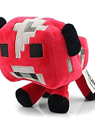 Minecraft mooshroom juguete animal de la enredadera