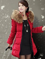 Women's Clothing In Heavy Hair Get Long Down Jacket Cotton Coat
