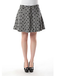 parte superior de poepoe falda de tweed las towm de las mujeres