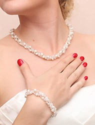 Jewelry Set Women's Anniversary / Wedding / Engagement / Birthday / Party / Special Occasion Jewelry Sets Pearl PearlBracelets /