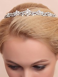 Women's Flower Girl's Alloy Cubic Zirconia Headpiece-Wedding Special Occasion Tiaras