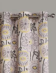 philips giovane - due pannelli contemporanei astratte tende fiore artistico tende