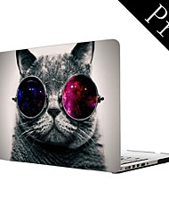 "Cool Cat Design Full-Body Protective Plastic Case for MacBook Pro 13""/15"" (Non-Retina)"