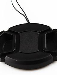 dengpin®52mm tampa da lente da câmera para Nikon D5200 D5100 D5000 D3100 D3200 D60 D40 D50 com lente 18-55 mm + uma corda titular trela