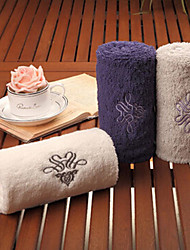Christmas Gift Purple Blue Off-white Towel Set(100% Cotton,75*34*3pcs)