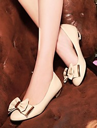 Women's Shoes Round Toe Low Heel Pumps with Bowknot Shoes More Colors available