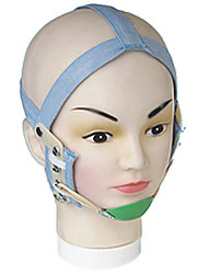 Classic Grey Adjustable Leather Orthodontic Head Cap(1 Pc)(Ramdon Color)