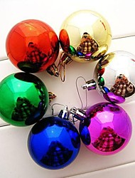 Christmas Balls 3Cm  Color Random(Set of  12)