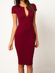 Liyuan Women's Sexy Fitted Party Dress