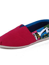 POEMLINE All-matched Flat Shoes  HS1068 Red