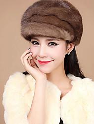 accesorios de piel sombrero de piel de piel de visón ocasión especial / sombrero informal (más colores)