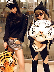 White Tiger Head Backpack(Small Size)