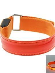 levou cor clara cinta banda treliça braço braçadeira vermelha (2xcr2032)