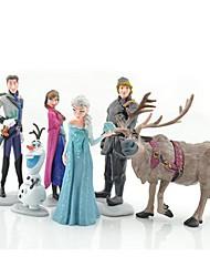olaf Schneemann ann elas Prinzessin Spielzeug Puppe (6pcs / lot)