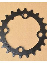 22t mountain bike pedivela cadeia disco dente de roda para shimano Truvativ pedaleira prowheel
