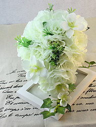 Elegante Cascade Silk Wedding Bouquet