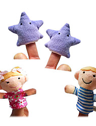 4PCS Twinkle Twinkle Little Star The Nursery Rhyme Finger Puppets