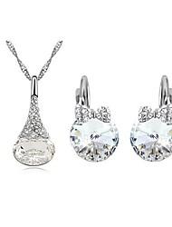 Women's Elegant Diamante Jewelry Sets