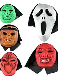 Fancy Dress Party Halloween Mask (Random Color)