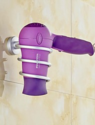 NEJE Aluminum Bathroom Hair Dryer Stand Holder Set
