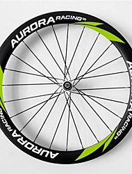 AURORA RACING Road 50T-23mm Full Carbon Tubular Road Bicycle Wheels with Pr13 Hub