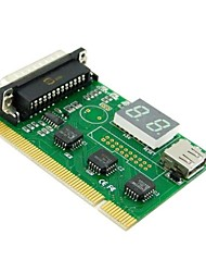 USB PCI LPT Parallel Motherboard Diagnostic Analyzer Test Post Card for Laptop PC