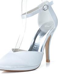 bombas de los zapatos de las mujeres zapatos de tacón puntiagudo tacón de aguja del dedo del pie zapatos de la boda más colores disponibles