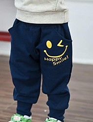 Boy's Cartoon Smile Sport Pants