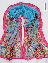 mode papillon fleur foulard des femmes