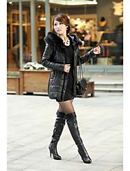 Women's Coats & Jackets , PU Bodycon/Casual Toato