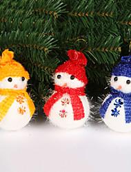Merry Christmas Snowman Decoration(Random Colors)
