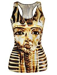 Egypt Pyramid Tank Top Dress Night Club Sexy Uniform