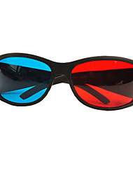Sharp Shield Storm Red And Blue 3D Glasses,3D Stereo Special Glasses for Eye Computer,Home Kits