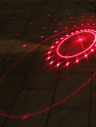 UNGROL Red Turbo Design 1 Laser Module 6 LED 6 Flash Mode Black Bike Warning Laser Light