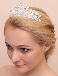 Women's/Flower Girl's Crystal/Alloy/Cubic Zirconia Headpiece - Wedding/Special Occasion Tiaras