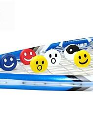 100 piezas FANGCAN 100% de silicona raqueta de tenis antivibradores