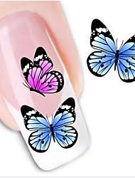 передачи воды печати ногтей наклейки xf1212