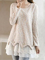 Women's Round Collar Fashion Sweet Knitwear Pullover(More Colors)