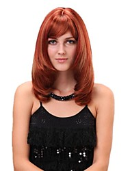 Middle Curly Synthetic Full Band Wigs