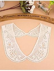 dentelle soluble creux de coton crochet collier des femmes