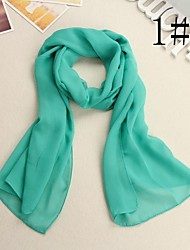 Women's Fashion Pure Color  Scarf