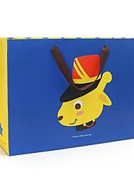 i sacchetti regalo blu giallo modello animale