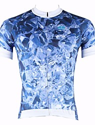 PALADIN Men's Cycling Tops Short Sleeve Bike Spring / Summer Breathable / Ultraviolet Resistant / Quick Dry BlueS / M / L / XL / XXL /