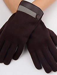 Men's Fashion Lattice Touch Screen Warm Glove
